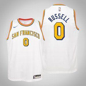 Women Warriors #0 D'Angelo Russell Jersey White